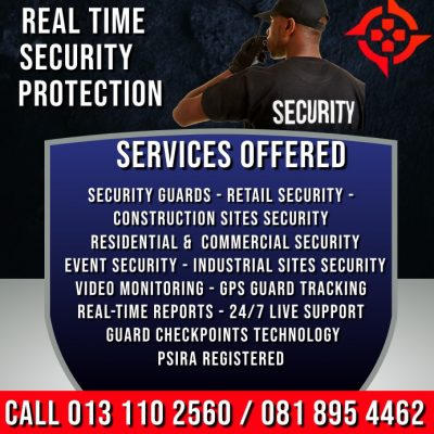 NSG SECURITY GUARDING BANNER